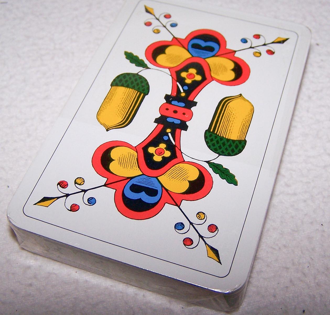 Spiel - Deutsch/Französische Jass-Karten