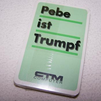 Spiel - Deutsch/Französische Jass-Karten - Rückseite