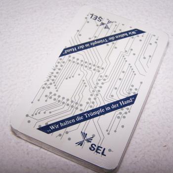 Spiel - Skat-Karten - SEL - Rückseite
