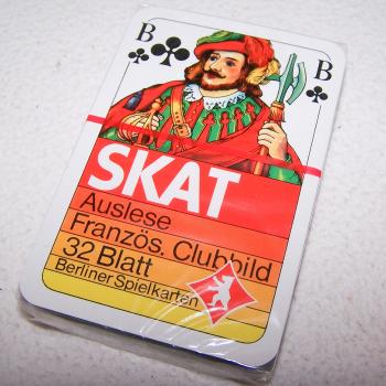 Spiel - Skat-Karten - Motorola Astro - in Kunststofffolie