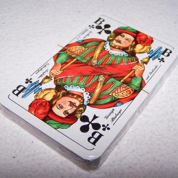Spiel - Skat-Karten - Motorola Funkgeräte - Vorderseite