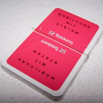 Spiel - Skat-Karten - Telekom Mobilfunk - Rückseite