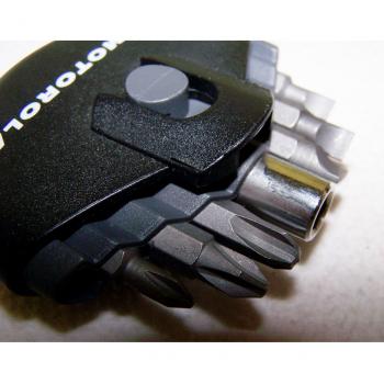 Heimwerker - Bitsatz - je 3 für Schlitz- und Kreuzschrauben