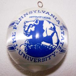 Souvenirs - Kunststoffkugel der Nittany Lions von der Pennsylvania State University