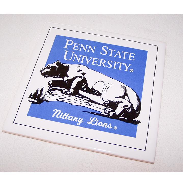 Souvenirs - Steingut-Fliese der Nittany Lions der Pennsylvania State University