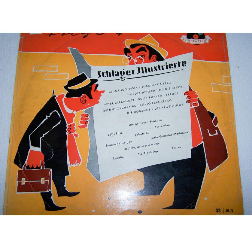 Audio-Video-Photo Tonträger - Langspielplatten - Schlagerparade Folge 4 - Hülle