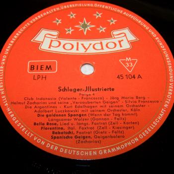 Audio-Video-Photo Tonträger - Langspielplatten - Schlagerparade Folge 4 - Seite 1