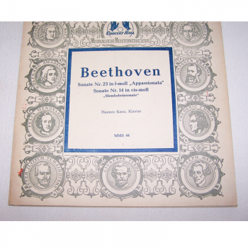 Audio-Video-Photo Tonträger - Langspielplatten - Beethoven - Hülle