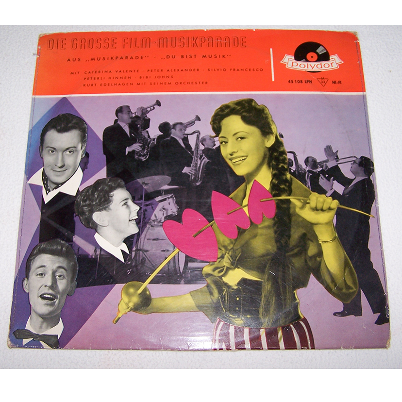 Audio-Video-Photo Tonträger - Langspielplatten - Filmmusik-Parade - Hülle