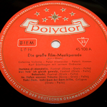 Audio-Video-Photo Tonträger - Langspielplatten - Filmmusik-Parade - Seite 1