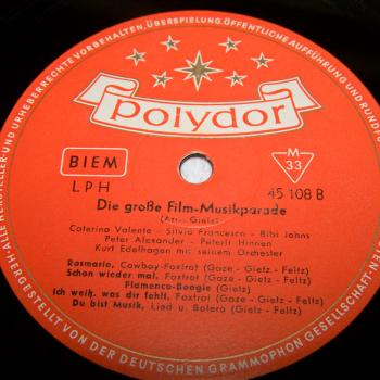 Audio-Video-Photo Tonträger - Langspielplatten - Filmmusik-Parade - Seite 2