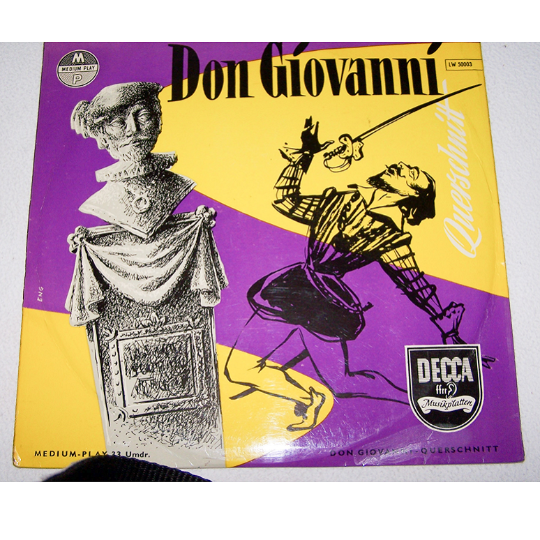 Audio-Video-Photo Tonträger - Langspielplatten - Don Giovanni - Hülle