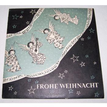 Audio-Video-Photo Tonträger - Langspielplatten - Frohe Weihnacht - Hülle