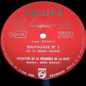 Audio-Video-Photo Tonträger - Langspielplatten - Dvoark - Rhapsodie N° 3 - Seite 2