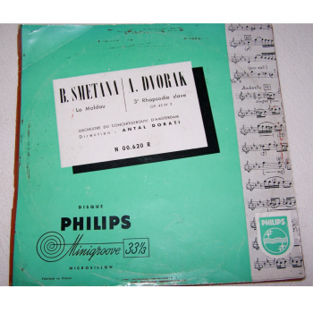 Audio-Video-Photo Tonträger - Langspielplatten - Dvorak / Smetana - Hülle