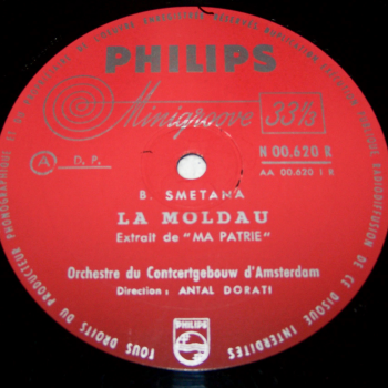Audio-Video-Photo Tonträger - Langspielplatten - Smetana - Moldau