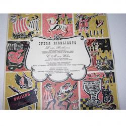Audio-Video-Photo Tonträger - Langspielplatten - Opera Highlights - Hülle