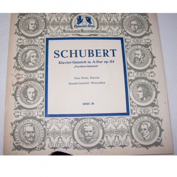 Audio-Video-Photo Tonträger - Langspielplatten - Schubert - Forellen-Quintett - Hülle