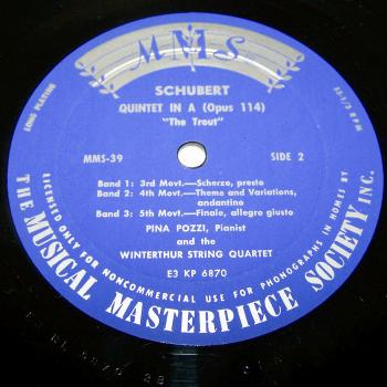 Audio-Video-Photo Tonträger - Langspielplatten - Schubert - Forellen-Quintett - Seite 2