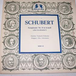 Audio-Video-Photo Tonträger - Langspielplatten - Schubert - Die Unvollendete - Hülle