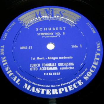 Audio-Video-Photo Tonträger - Langspielplatten - Schubert - Die Unvollendete - Seite 1