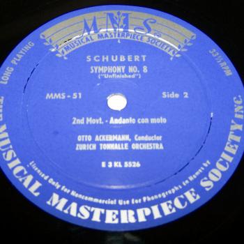 Audio-Video-Photo Tonträger - Langspielplatten - Schubert - Die Unvollendete - Seite 2