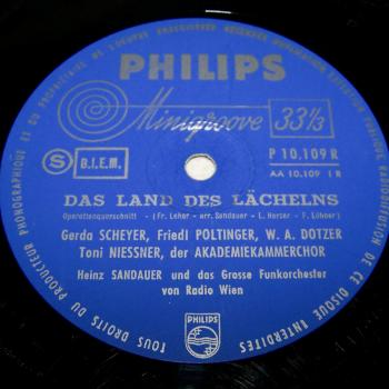 Audio-Video-Photo Tonträger - Langspielplatten - Franz Lehar - Land des Lächelns
