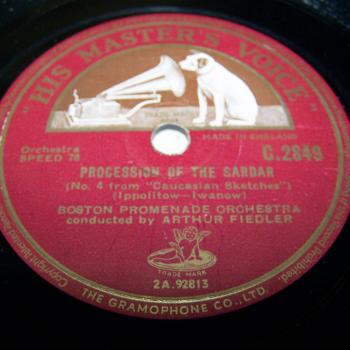 Audio-Video-Photo Tonträger - Schelleckplatten - Procession of the Sardar
