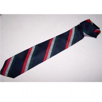 Bekleidung - Krawatten - schwarz mit rot/silber/grünen Streifen mit Motorola-Logo - offen