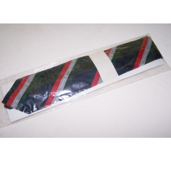 Bekleidung - Krawatten - schwarz mit rot/silber/grünen Streifen mit Motorola-Logo - originalverpackt
