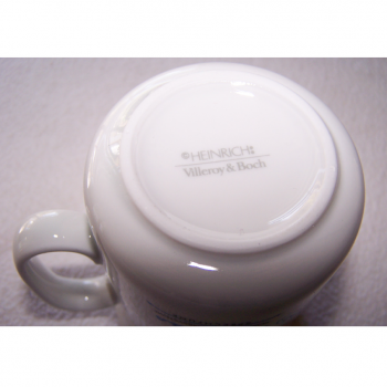 Haushalt - servieren - Geschirr - Kaffeetasse Villeroy & Boch Heinrich - Manufakturstempel