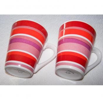 Haushalt - servieren - Geschirr - Kaffee-/Tee-/Milchbecher - 2er Set LBVYR - liegend