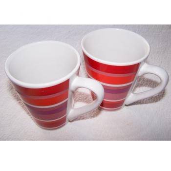 Haushalt - servieren - Geschirr - Kaffee-/Tee-/Milchbecher - 2er Set LBVYR - stehend