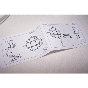 Licht - Wand-/Deckenlampe für Feuchträume - Anleitung Außenseiten