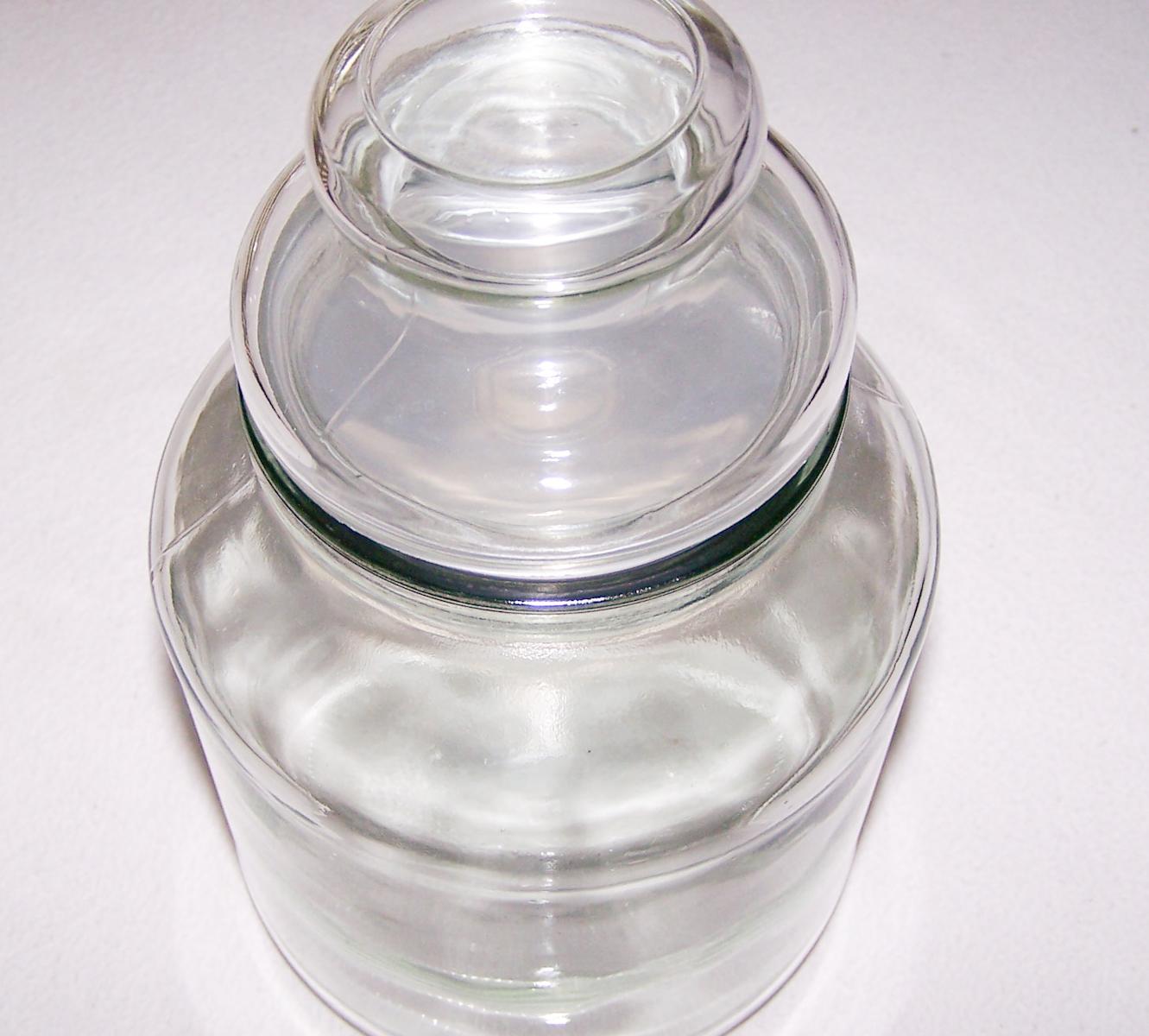 Haushalt - aufbewahren - Vorratsglas für Bonbons