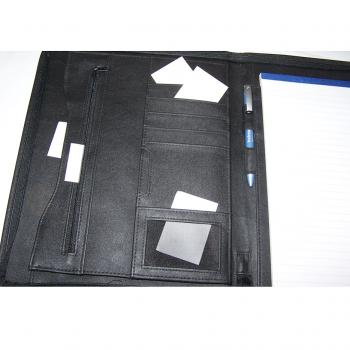 Büro - Ablage & Archiv - Schreibmappe Bodenseeland - linke Seite mit Fächern