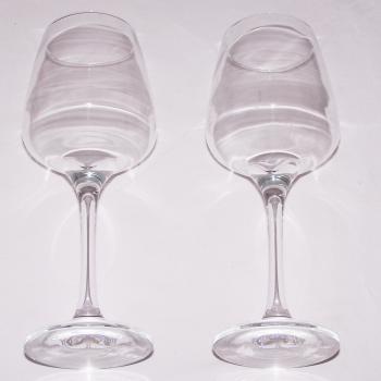 Haushalt - servieren - Gläser - Weingläser - liegend