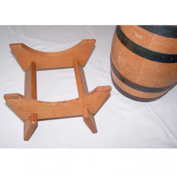 Haushalt - aufbewahren - 5 Liter-Holzfass mit Bock