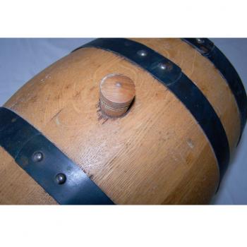 Haushalt - aufbewahren - 5 Liter-Holzfass mit Stopfen