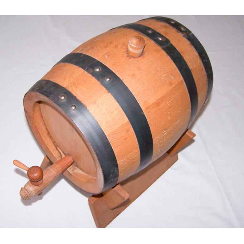 Haushalt - aufbewahren - 5 Liter-Holzfass