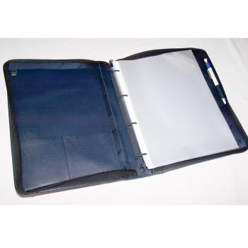 Büro - Ablage & Archiv - Ringbuch-Mappe A4 Motorola - geöffnet