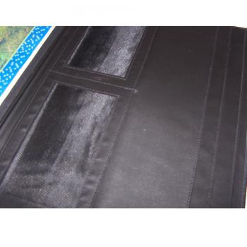 Büro - Ablage & Archiv - abschließbare Schreibmappe DIN A4 - rechte Innenseite