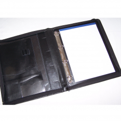 Büro - Ablage & Archiv - Ringbuch-Mappe mit Schreibblock - offen