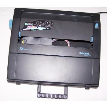 Büro - Bürowerkzeuge - Schreibwerkzeuge - Elektrische Reiseschreibmaschine TA Gabriele Cyclo - mit Tragegriff