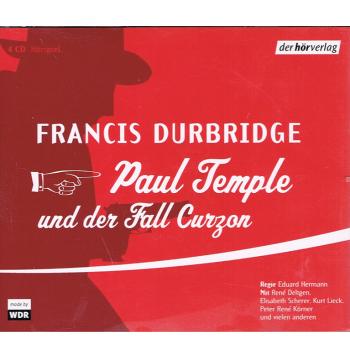 Literatur - Hörbücher - Francis Durbridge: Paul Temple und der Fall Curzon