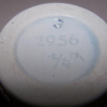 Haushalt - servieren - Steinkrug 0,25l mit Inschrift - Boden