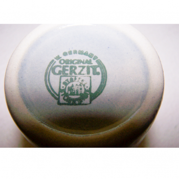 Haushalt - servieren - Steingutkrüge und -becher - Gerzit Staffel Stoneware - Manufakturstempel 1