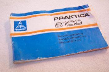 Audio, Video & Photo - Kleinbild-Spiegelreflexkamera Practica B100 - Bedienungsanleitung