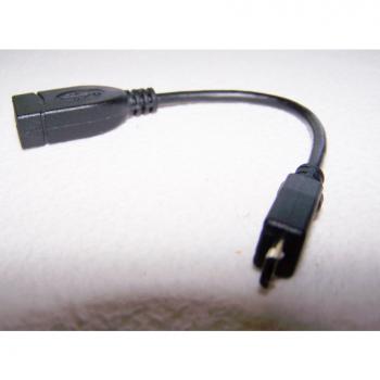 Audio, Video & Photo - Kopfhörer-Set für Smartphones, Tablets, etc. - OTG-Kabel