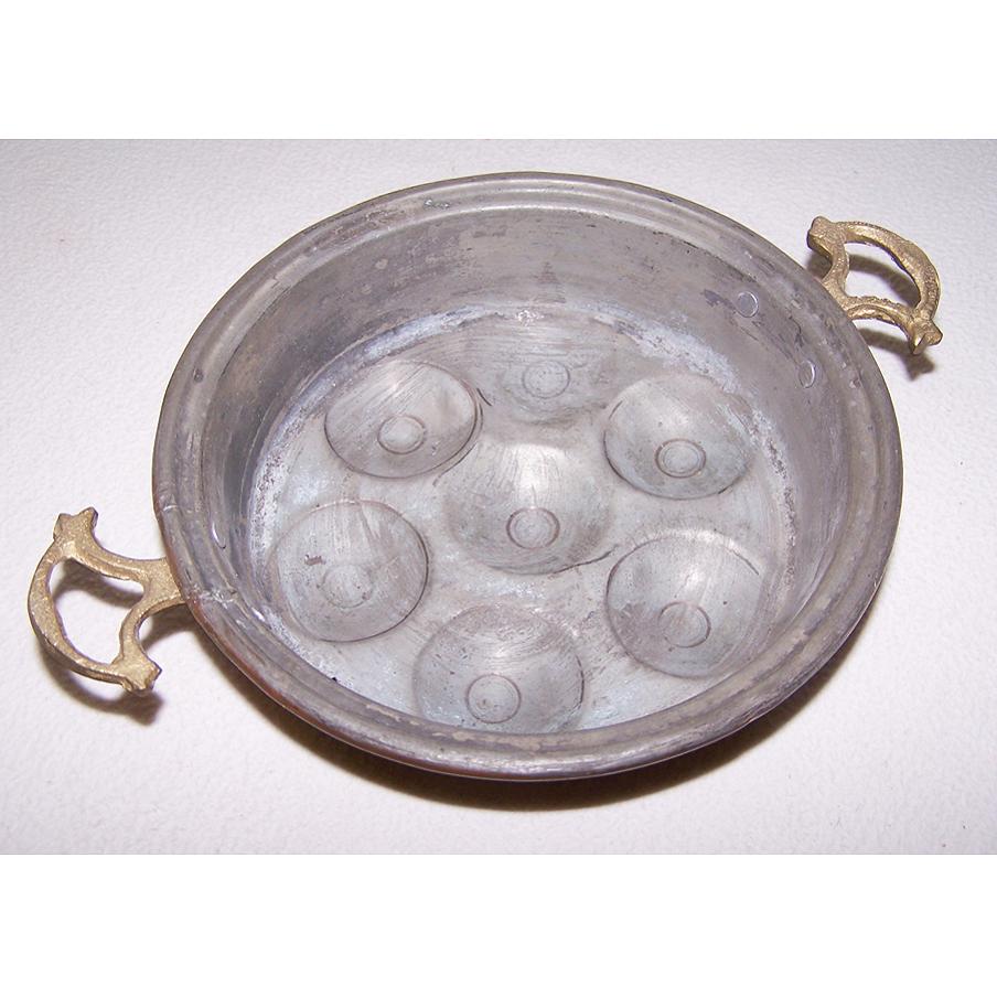 Haushalt - servieren - Kupfer-Schneckenpfännchen